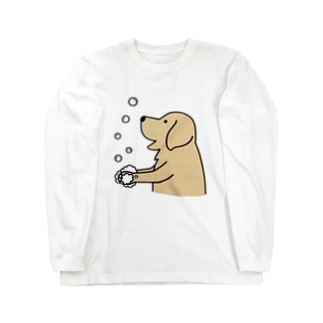 wash hands 2 Long sleeve T-shirts