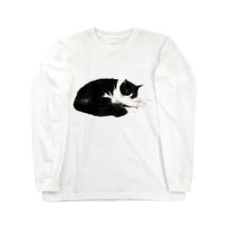 ねこのしっぽのはなちゃん Long Sleeve T-Shirt