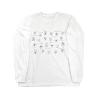 シュナシュナ Long sleeve T-shirts