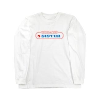 original logo 【TODAYS SISTER】 Long sleeve T-shirts