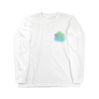 色づく金魚 Long sleeve T-shirts