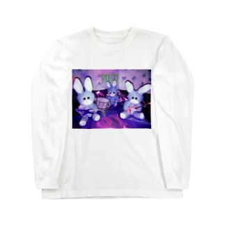 うさじスリー Long sleeve T-shirts