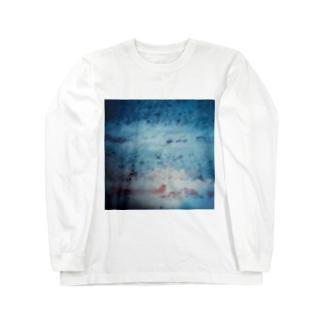 """""""ショートケーキ・エアライン"""" Long sleeve T-shirts"""