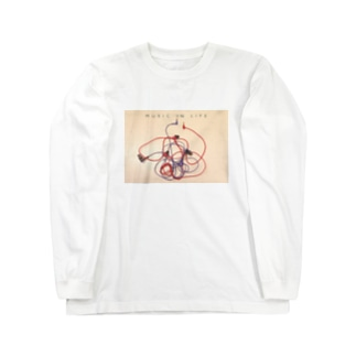 MUSIC IS BLOOD Long sleeve T-shirts