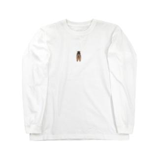 視線を釘付け Long sleeve T-shirts