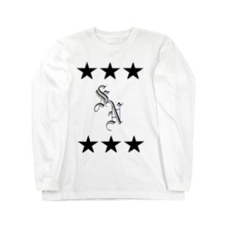 イニシャルSN Long sleeve T-shirts