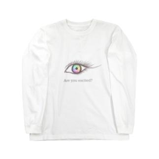 hitomi Long sleeve T-shirts