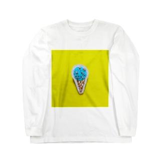 大好きチョコミント Long sleeve T-shirts