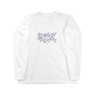 枇杷の絵2018 Long sleeve T-shirts