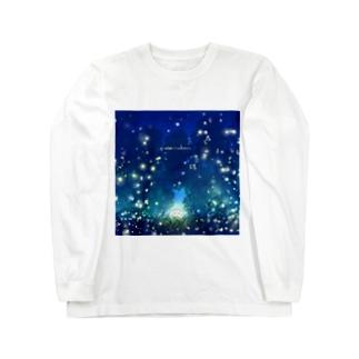 蛍。 Long sleeve T-shirts