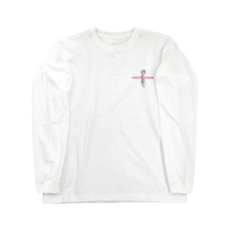 Rose Tattoo | pink letter Long sleeve T-shirts