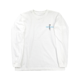 Rose Tattoo | baby blue letter Long sleeve T-shirts