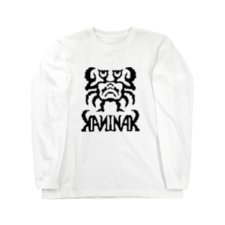 カニナークKANINAK(bk) Long sleeve T-shirts