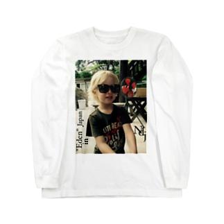 Noir de jais- series of   Eden Long sleeve T-shirts