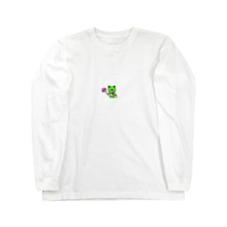 ぽっぴん Long sleeve T-shirts