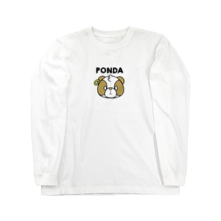 ぽんだくん Long sleeve T-shirts