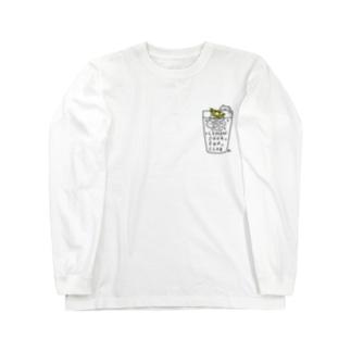 LEMON SOUR FAN CLUB GOODS Long sleeve T-shirts