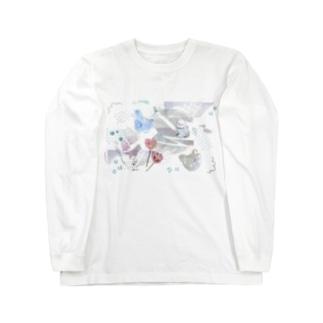 歪心 Long sleeve T-shirts
