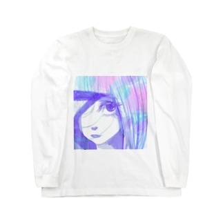 片目女 Long sleeve T-shirts