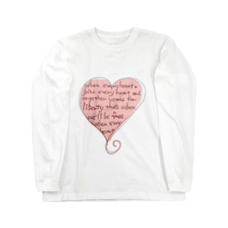 feel-soul-Heart Long sleeve T-shirts