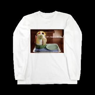 高田万十のLet's have a break. Long sleeve T-shirts
