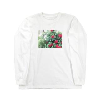 中央線中野で撮った花 Long sleeve T-shirts
