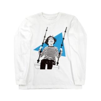swing girl Long sleeve T-shirts