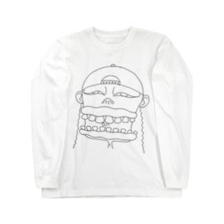 帽子のお兄さん Long sleeve T-shirts