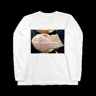 高田万十のWhat will you do today? Long sleeve T-shirts