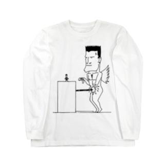 堕天使の苦悩 Long sleeve T-shirts