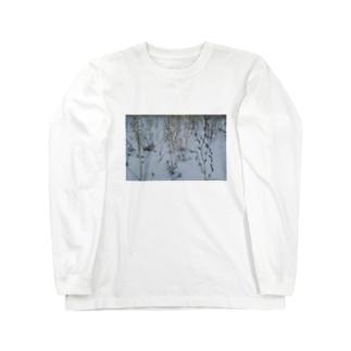 寒い朝 Long sleeve T-shirts