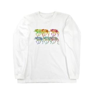 タテガミオオカミ6 Long sleeve T-shirts