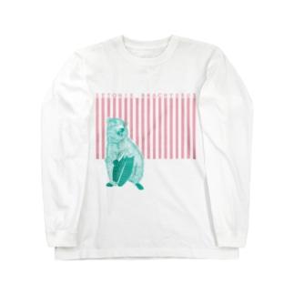 クアッカワラビー Long sleeve T-shirts