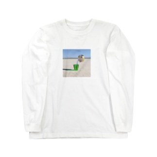 まるがお02 Long sleeve T-shirts