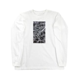 葉っぱとはっぱ Long sleeve T-shirts