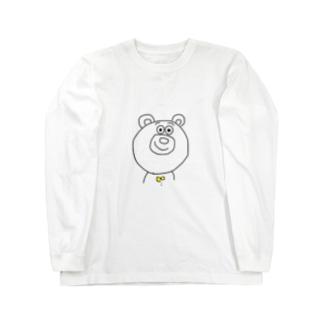 くままん Long sleeve T-shirts