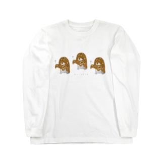 カレーオバケズ Long sleeve T-shirts