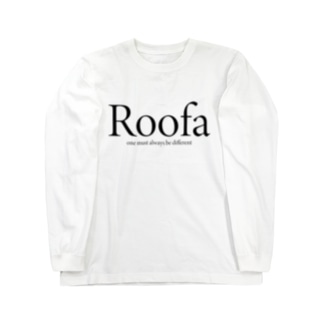 Roofa Logo Long sleeve T-shirts
