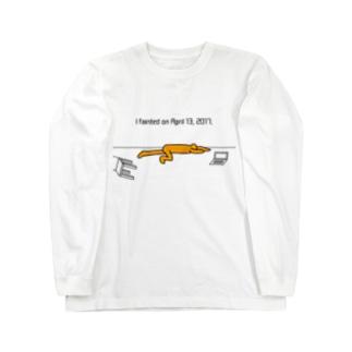 失神 Long sleeve T-shirts