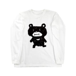 クマやん Long sleeve T-shirts