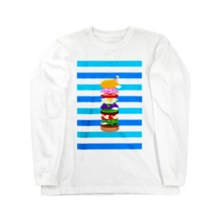 Natural burgers Long sleeve T-shirts