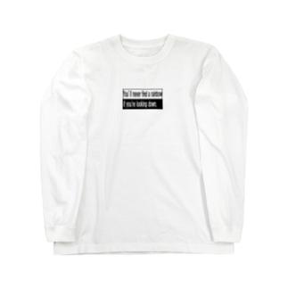 上を向いて歩こう Long sleeve T-shirts
