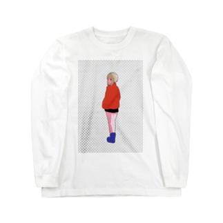 浮 Long sleeve T-shirts