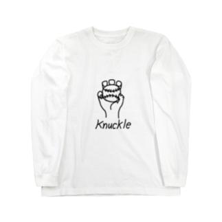 ナックル Long sleeve T-shirts