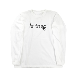 LeTNSP-001(黒) Long sleeve T-shirts