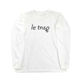 LeTNSP-001(黒) Long sleeve T-shirts
