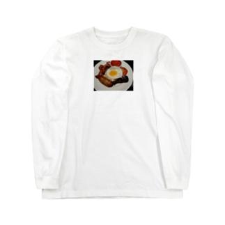 イングリッシュブレックファースト Long sleeve T-shirts