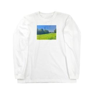 家の近く Long sleeve T-shirts