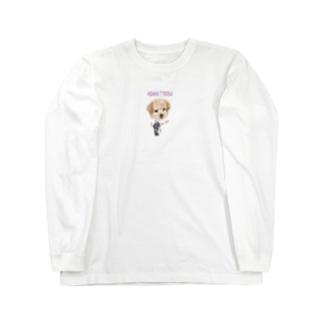 ミランダ.T.プードル Long sleeve T-shirts