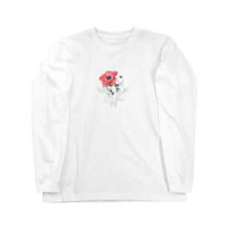アネモネの記憶 Long sleeve T-shirts